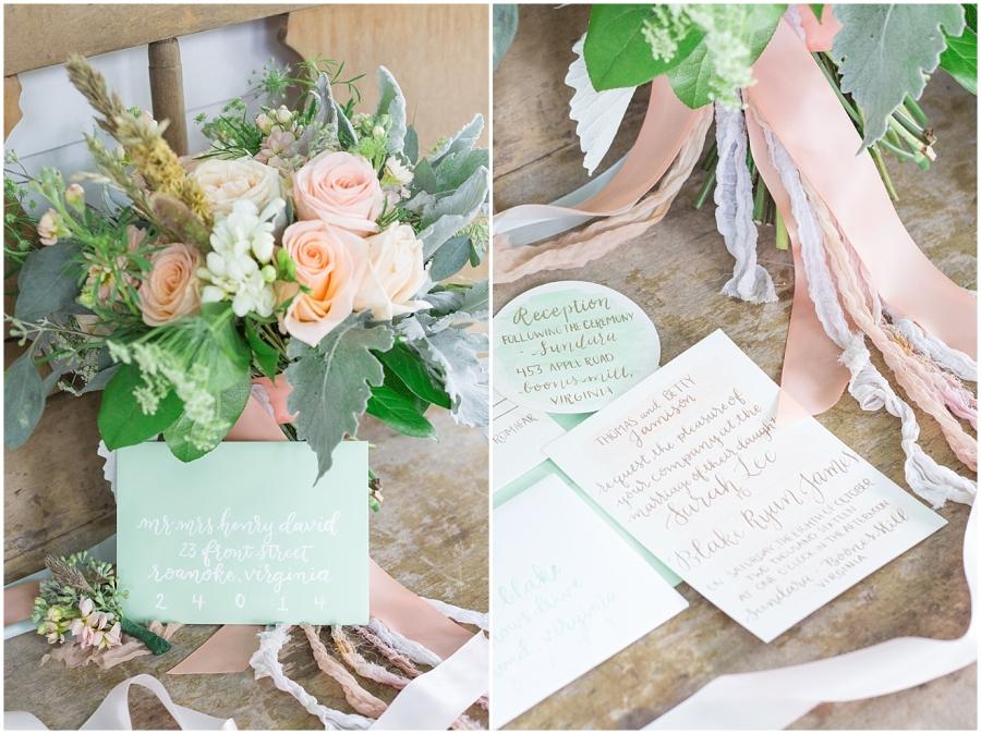 mint-peach-wedding-watercolor-invitations