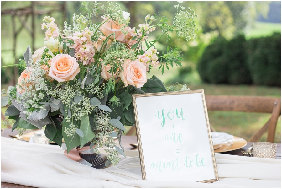 mint-and-peach-wedding