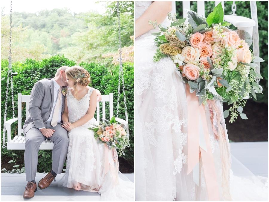 mint-peach-wedding colors