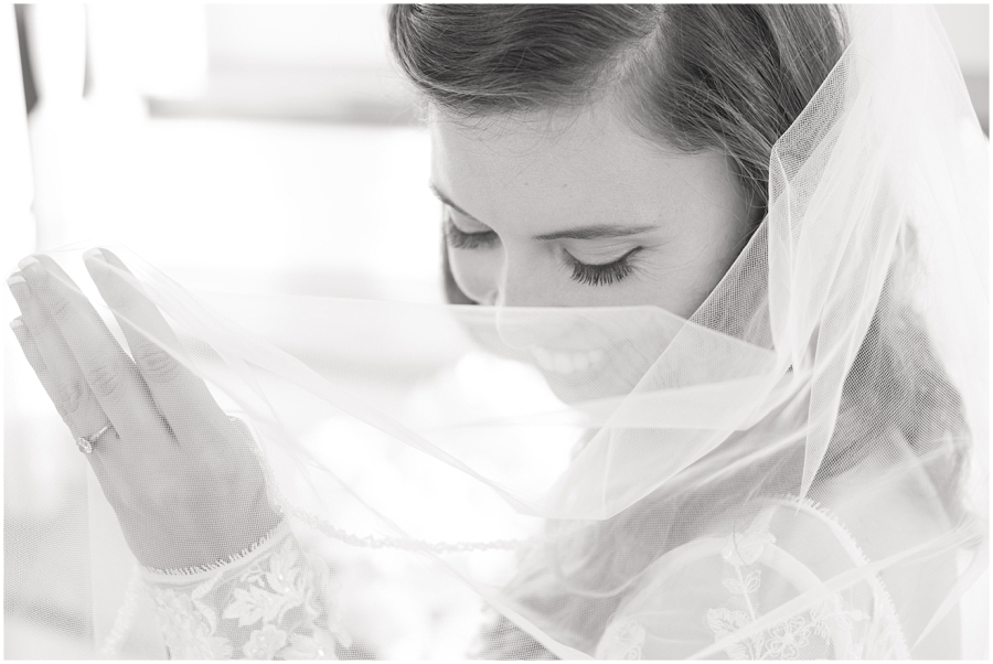 black-and-white-bridal-portrait
