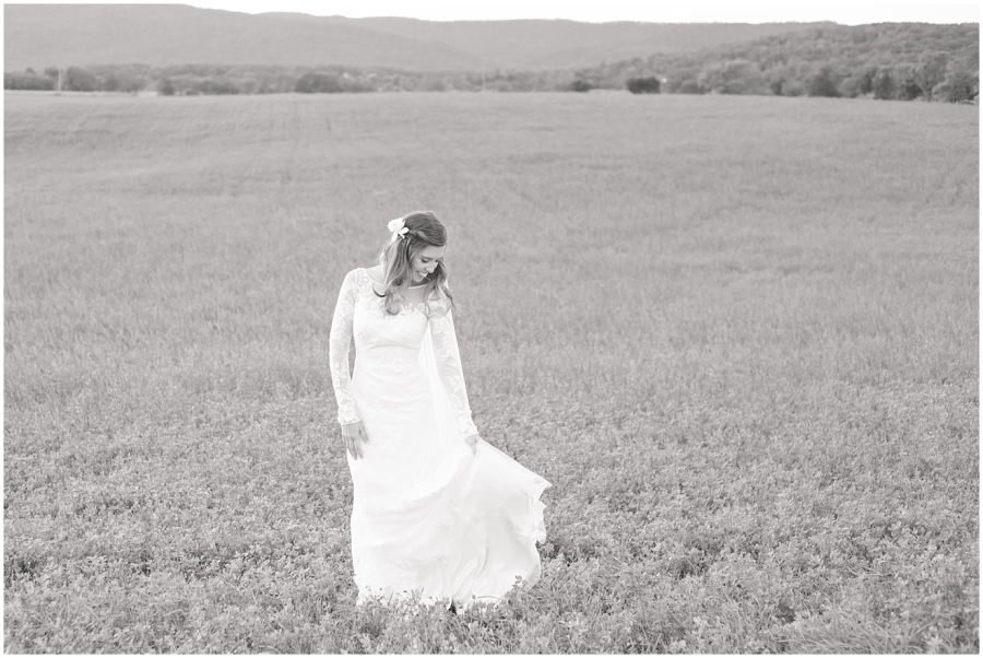 black-and-white-mountains-bridal-portrait