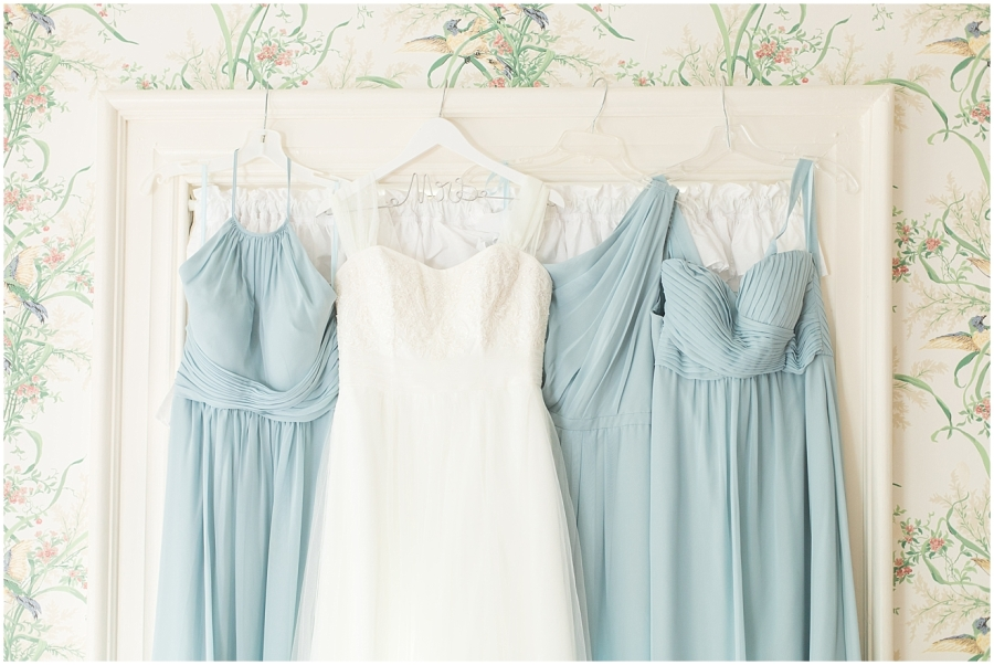 blue-chiffon-bridesmaid-dresses