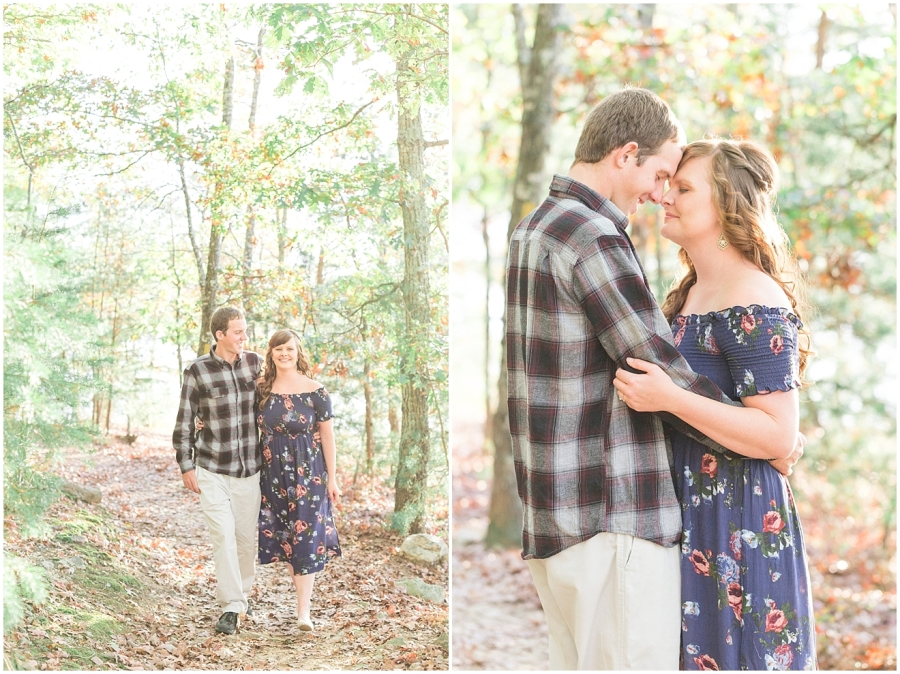 carvins-cove-fall-engagement-photos