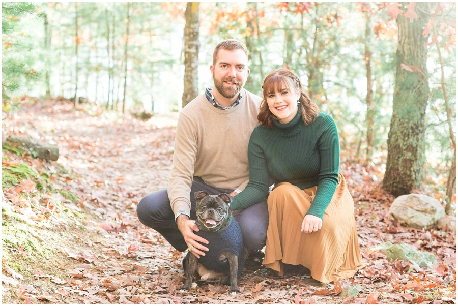 autumn-engagement-session-with-pug
